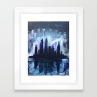 Gloom Framed Art Print