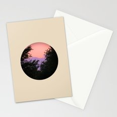Clouds As Mountains Circular Stationery Cards