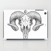 Skull Sketch iPad Case