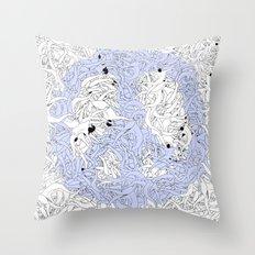 PEACE MAN Throw Pillow
