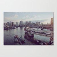Tokyo Bay Canvas Print