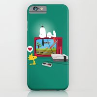 iPhone & iPod Case featuring Duck Game by Lily's Factory