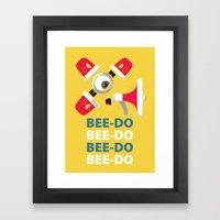 Bee-Do Bee-Do Framed Art Print