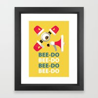 Bee-Do Bee-Do Framed Art Print