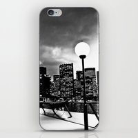 Mono-Chrome City iPhone & iPod Skin
