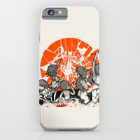 iPhone & iPod Case featuring We'll help you rise again by Carlos Rocafort