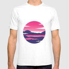 Kintamani Mens Fitted Tee SMALL White