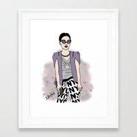 New York Style Framed Art Print