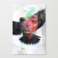 Faith or Flight? Canvas Print