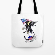 American Traditional Tote Bag