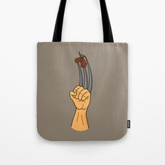 x-men finger puppet Tote Bag