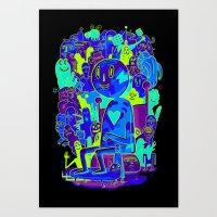 Knee-Jerk Art Print