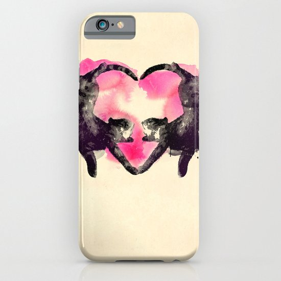Cats love to sleep iPhone & iPod Case