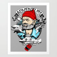 Adventure With Dynamite Art Print
