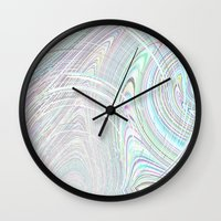 Re-Created  Hurricane 2 by Robert S. Lee Wall Clock