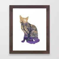 A cat's life II Framed Art Print