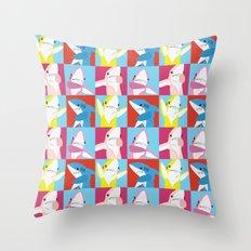 Left Shark Pop Art Throw Pillow