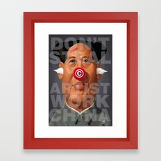 Mao Tse-Took My Art Framed Art Print