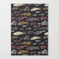 Kalat pattern Canvas Print