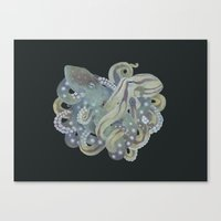 Tangled No. 5 Canvas Print