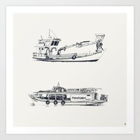 On Paper: Capote Y Pica… Art Print