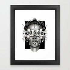 Egungun-Oya Framed Art Print