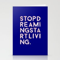 STOPDREAMINGSTARTLIVING Stationery Cards