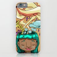 iPhone & iPod Case featuring Overflowing thoughts  by kathleen premian