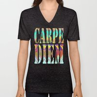 Lacy Camping Dreams  Unisex V-Neck