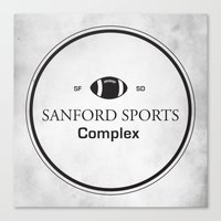 Sanford Sports Complex Canvas Print