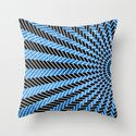 Low Peaks - Water Drops Throw Pillow