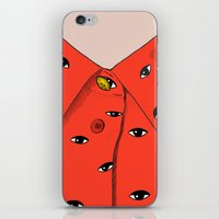 Eye pattern iPhone & iPod Skin