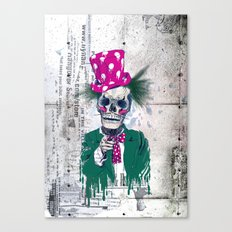 Skully Sam Canvas Print