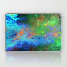 Speed Of Light - Abstract space painting Laptop & iPad Skin