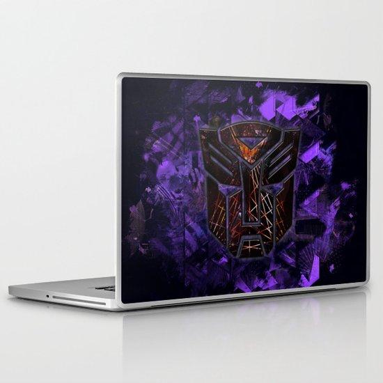 Autobots Abstractness - Transformers Laptop & iPad Skin