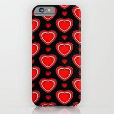 Valentine in Black iPhone 6 Slim Case