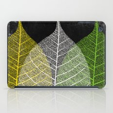 'Natural Dry Leaves' iPad Case