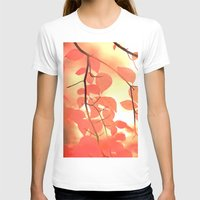 Ablaze With Color Womens Fitted Tee White SMALL