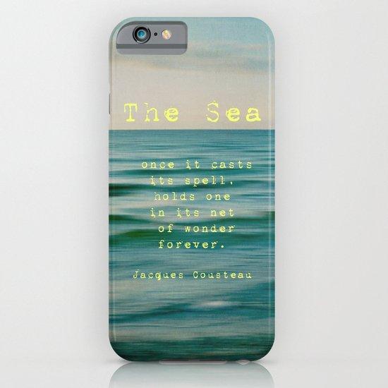 The Sea - typo iPhone & iPod Case
