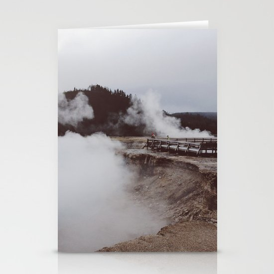 Excelsio Geyser Crater Stationery Card