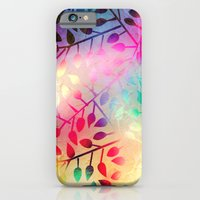iPhone & iPod Case featuring BRIGHT LEAVES - for iphone by Simone Morana Cyla