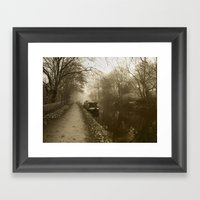 Canal 2 Framed Art Print