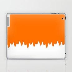 Orange ice cream Laptop & iPad Skin
