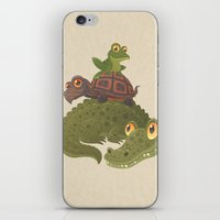 Swamp Squad iPhone & iPod Skin