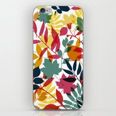 Autumn Pattern iPhone & iPod Skin