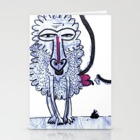 baboon Stationery Cards