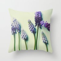 She Liked Everything in it's Place Throw Pillow