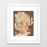 cerebral Framed Art Print