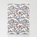 Small, Colorful Leaves  Stationery Cards