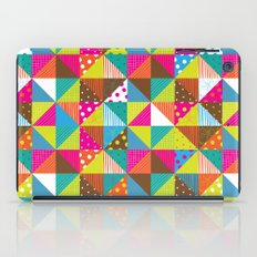 Crazy Squares iPad Case